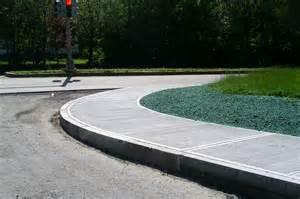 Sidewalk with Curb