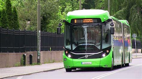 volvo concept bus  ebsf konceptbussen  youtube