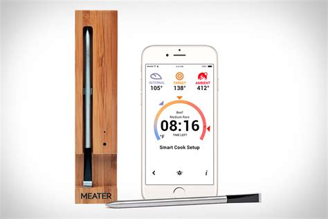 meater smart meat thermometer  health magazine
