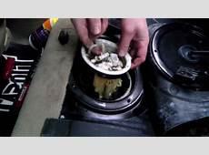 BMW 323i fuel pump removal YouTube