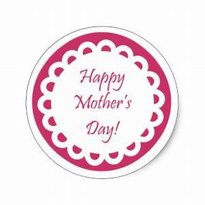 Happy Mothers Day Stickers | Zazzle