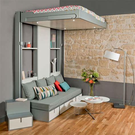 chambre de bonne marseille lits escamotables et lits mezzanines meubles gain de