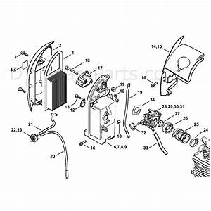 Stihl Br 600 Z Backpack Blower  Br 600 Z  Parts Diagram