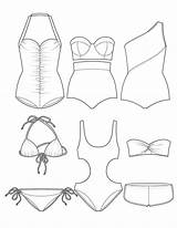 Coloring Pages Swimsuit Vest Living Swimsuits Assisted Clipart Sunday Another Activities Diaries Swimwear Break Transparent Spinsterhood Spring Crafts Creative Illustration sketch template