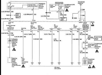solved stereo wiring diagram for 2005 chevy trailblazer