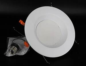 Pack quot led w k recessed can light downlight