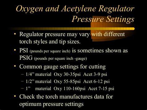 oxy acetylene