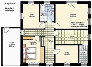 Bodenplatte Garage Kosten Pro Qm : bungalow 90 4 zimmer var 4 einfamilienhaus neubau ~ Lizthompson.info Haus und Dekorationen