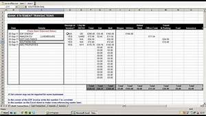 Using An Excel Spreadsheet To Record And Break Down