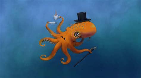 Hd Octopus Wallpaper Wallpapersafari