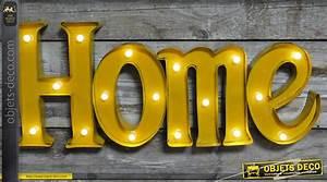 Decoration Lumineuse Murale : d coration murale lumineuse home ~ Teatrodelosmanantiales.com Idées de Décoration
