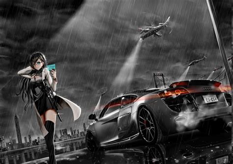 Anime Car Wallpaper - preview and wallpaper hd wallpapers desktop