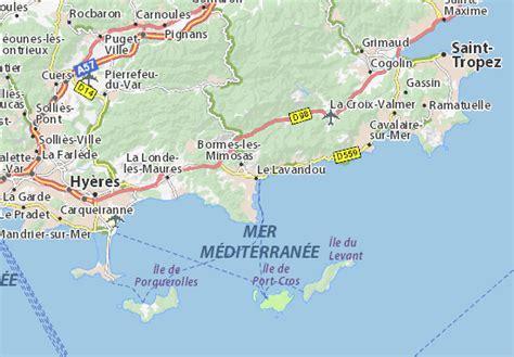 Michelin Le Lavandou Map