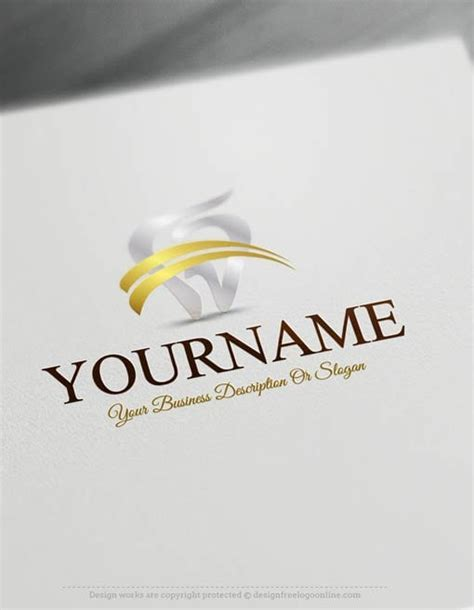 logo maker dental logo templates