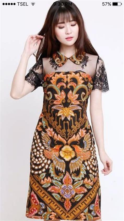 dress brokat modern ideas  pinterest kebaya