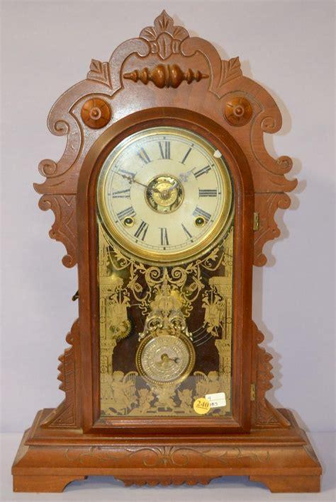 en welch roze kitchen mantle clock price guide