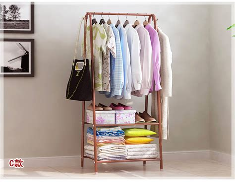 Bedroom Multifunctional Clothes Hanger Rack Jlr19f2