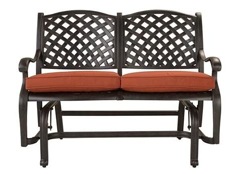 moreaux outdoor bench glider patio outdoor seating