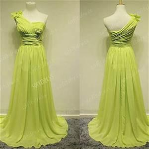 Shop Lime Green Prom Dresses on Wanelo