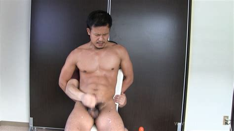 Japanese Hunk With A Huge Cock Squirting