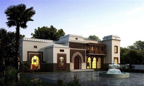 images  arabian villas  pinterest house