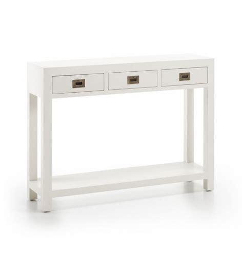 meuble cuisine profondeur 30 cm meuble d 39 entrée avec tiroirs console blanche