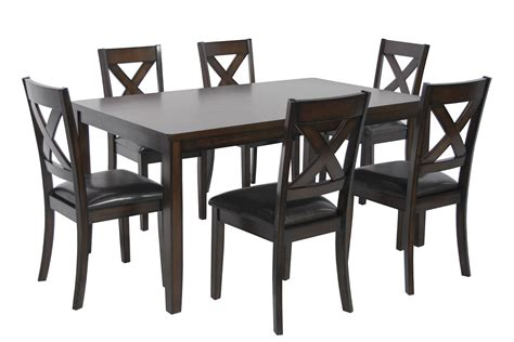 black dining room table and chairs kitchen dining furniture walmart com room sets on sale