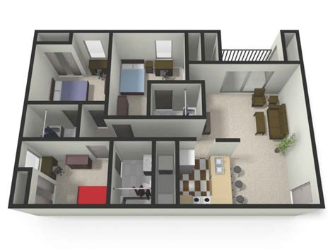3 Bedroom 3 Bathroom Apartments by 3 Bedroom Rentals In Mt Pleasant