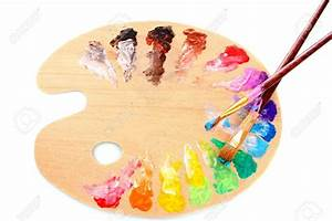 Palette De Couleur Peinture : real paint palette the image kid has it ~ Dailycaller-alerts.com Idées de Décoration