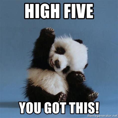 Meme High Five - high five you got this high five meme generator