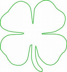 White Green Shamrock Clip Art at Clker.com - vector clip ...
