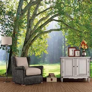 Aliexpresscom : Buy Custom 3D Photo Wallpaper 3D, Tree ...