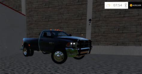 dodge  dually     farming simulator   mods