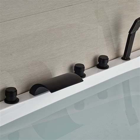 Kautz Luxury 5 Hole Deck Mount Oil Rubbed Bronze Waterfall