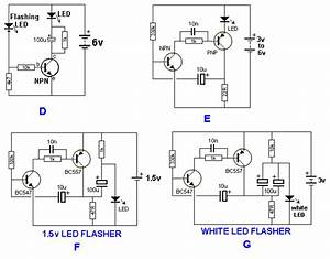 30 led projects With super bright white led circuits uses a super bright white led circuits