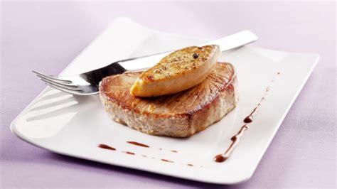 comment cuisiner steak thon recette steak de thon rossini grand veneur chocolat