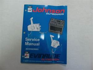 Honda Outboard Remote Control Workshop Manual