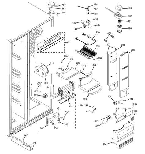 ge profile refrigerator pswpsrb ss  leaking water    refrigerator  freezer