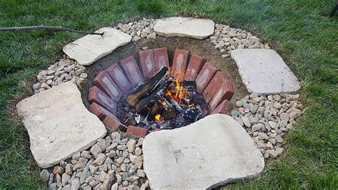 simple brick pit 27 best diy firepit ideas and designs for 2017