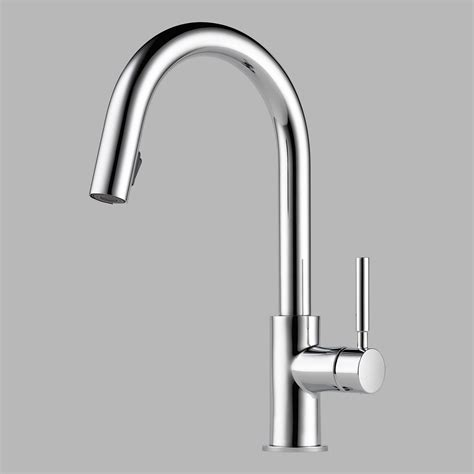 brizo solna kitchen faucet brizo 63020lf pc solna single handle pul kitchen