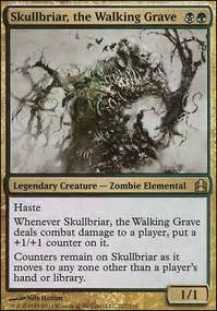Most Competitive Edh Decks by Skullbriar 1v1 Competitive Edh Commander Edh Mtg Deck