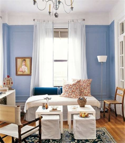 Powder Blue wall paint ? water colored interior   Interior