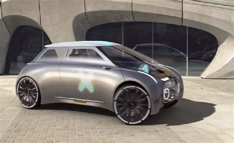 Mini Vision Next 100 Electric Car Revealed In London