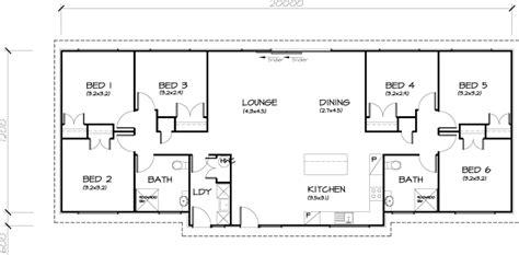 6 bedroom house floor plans 6 bedroom transportable homes floor plans