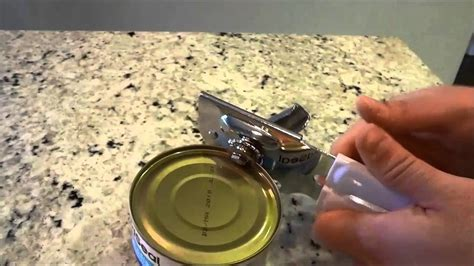 How To Use A Can Opener (tutorial) Youtube