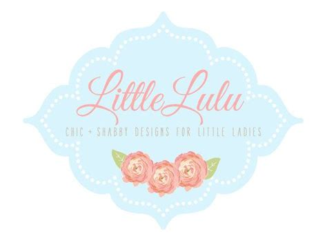 shabby chic logos custom logo design premade logo and watermark for photographers and s