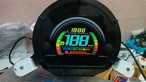 Modifikasi Speedometer Nmax
