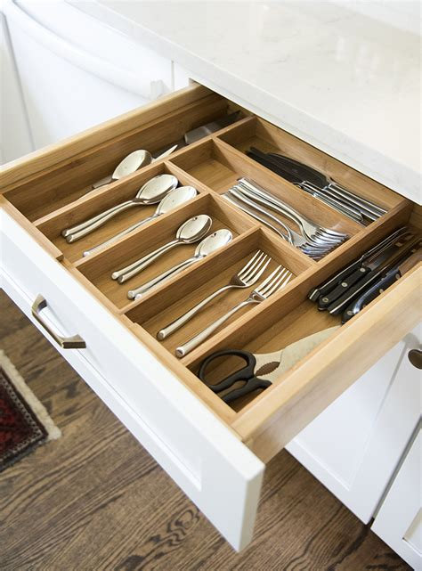bamboo drawer organizer tips for organizing a styled kitchen room for tuesday