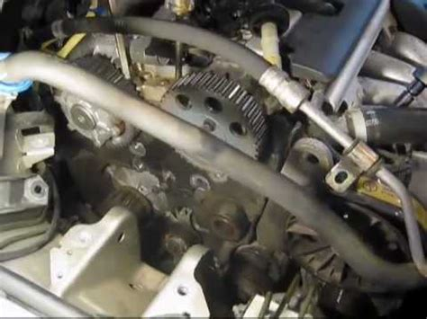 mg  volvo  timing belt replacement youtube
