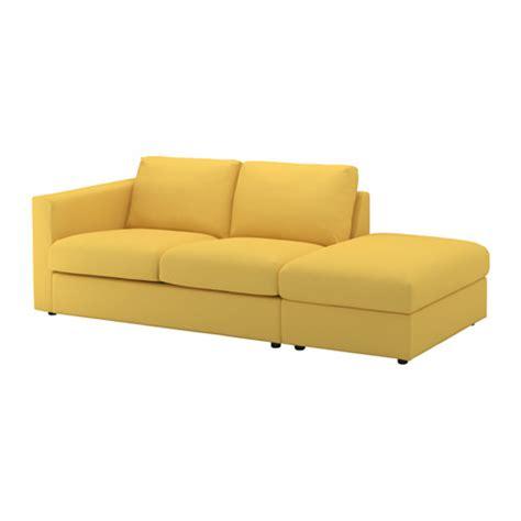 canapé jaune ikea vimle canapé 3 places sans accoudoir orrsta jaune doré